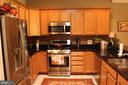 Lovely appointed kitchen. Features LG appliances. - 267 LONG POINT DR, FREDERICKSBURG