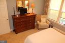 Master bedroom. - 267 LONG POINT DR, FREDERICKSBURG