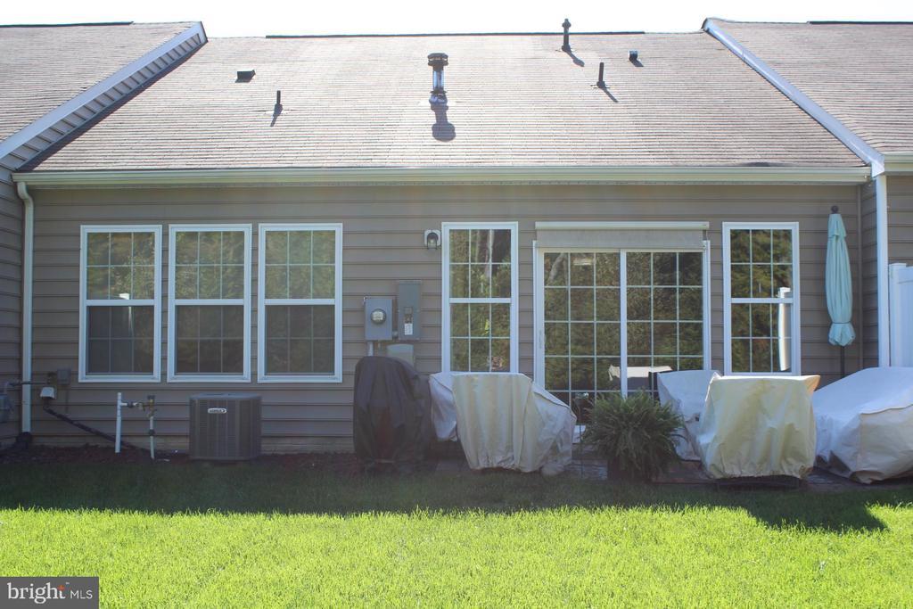 Exterior rear. - 267 LONG POINT DR, FREDERICKSBURG