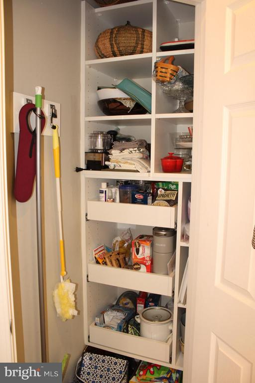 Additional custom pantry storage. - 267 LONG POINT DR, FREDERICKSBURG