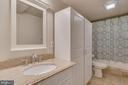 Full Bathroom on the Lower Level is Renovated - 1463 MOUNTAIN VIEW RD, STAFFORD