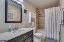 Hall Bathroom on Main Level is Renovated - 1463 MOUNTAIN VIEW RD, STAFFORD