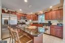 Kitchen is completely renovated - 1463 MOUNTAIN VIEW RD, STAFFORD