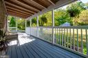 Large covered front porch - 108 CLORE DR, STAFFORD