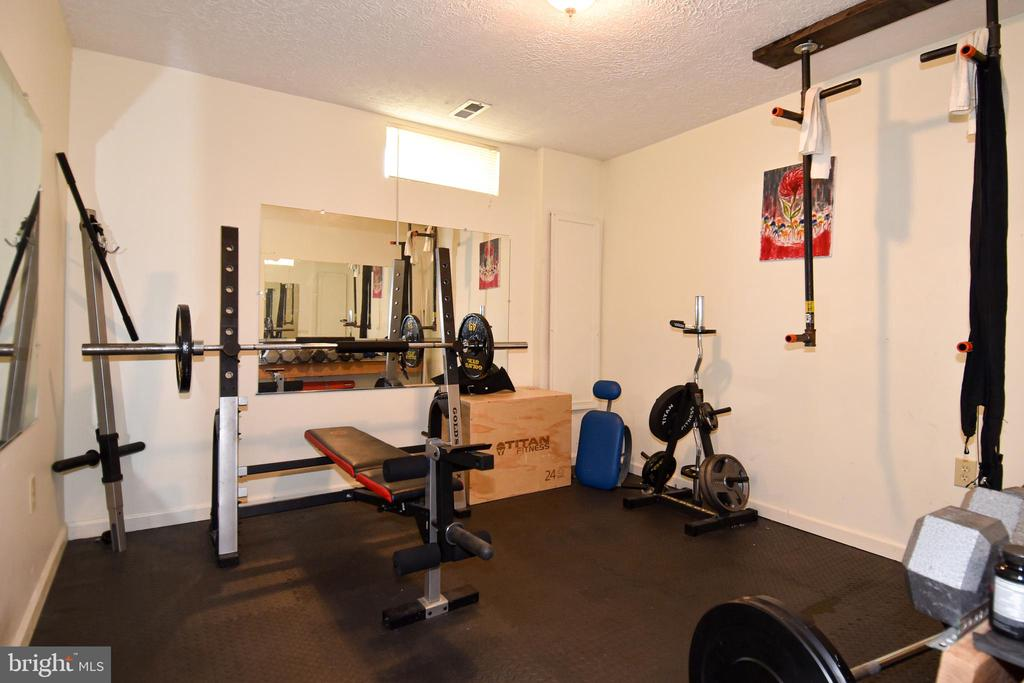 Workout Room in Basement - 25 PATRIOT WAY, STAFFORD