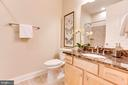 Lower level Full Bath - 10610 CANFIELD ST, FAIRFAX