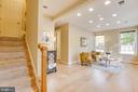 Bright Lower Level - 10610 CANFIELD ST, FAIRFAX
