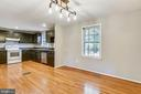 FLOW FROM DINING AREA TO KITCHEN! - 14564 WOODLAND RIDGE DR, CENTREVILLE