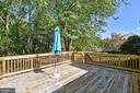 LARGE DECK FOR OUTDOOR ENTERTAINING!! - 14564 WOODLAND RIDGE DR, CENTREVILLE