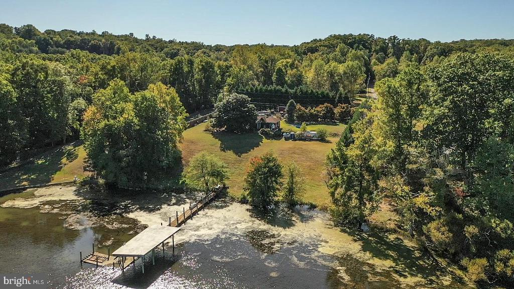 Beautiful view of the property and dock. - 54 SHADY LN, STAFFORD