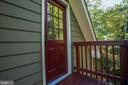 Entrance to room above garage (400 sq ft) - 4507 16TH ST N, ARLINGTON
