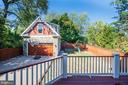 View from deck (rear of home) - 4507 16TH ST N, ARLINGTON
