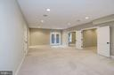 Fully finished walkout lower level - 4507 16TH ST N, ARLINGTON