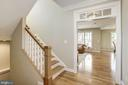 Curved Staircase - 4507 16TH ST N, ARLINGTON