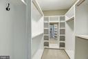Master Bedroom walk in closets - 4507 16TH ST N, ARLINGTON