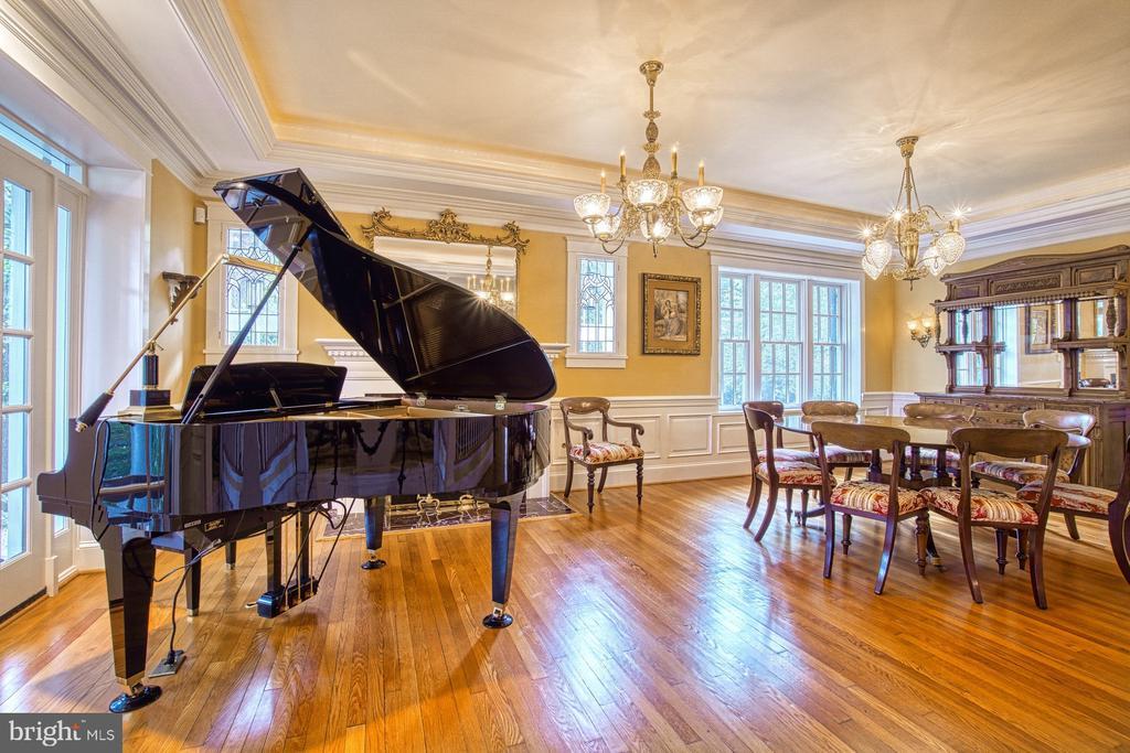 Spacious dining /music room - 3812 MILITARY RD, ARLINGTON