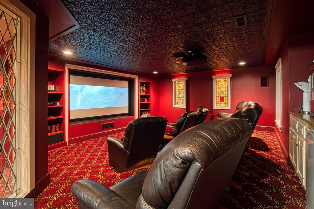 Lower level theater - 3812 MILITARY RD, ARLINGTON