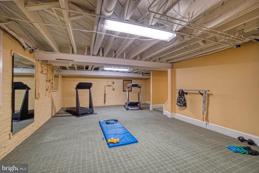 Lower level work out room - 3812 MILITARY RD, ARLINGTON