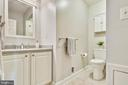 Remodeled hall bathroom - 102 ROBERTS CT, ALEXANDRIA