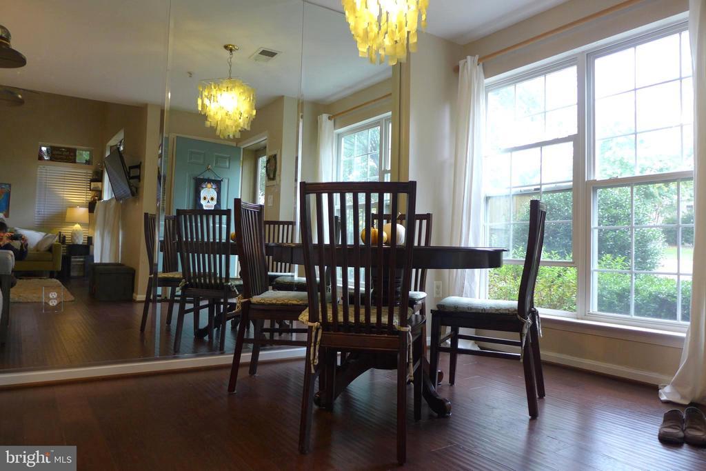 Dining area - 11872 BRETON CT #12A, RESTON