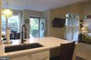 View from kitchen - 11872 BRETON CT #12A, RESTON