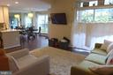 View from living room - 11872 BRETON CT #12A, RESTON