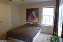 Master bedroom - 11872 BRETON CT #12A, RESTON