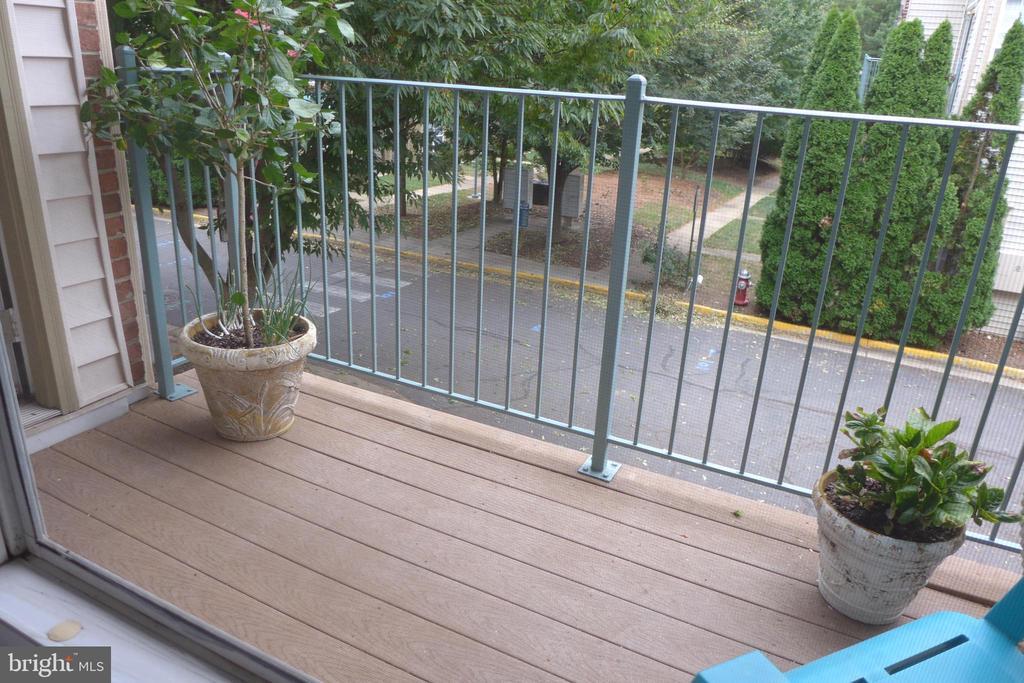 Balcony off master bedroom - 11872 BRETON CT #12A, RESTON