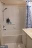 Hallway bathroom at the upper level - 11872 BRETON CT #12A, RESTON