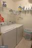 Laundry room - 11872 BRETON CT #12A, RESTON