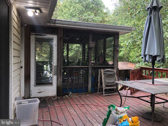 Porch - 13407 BLACK MEADOW RD, SPOTSYLVANIA