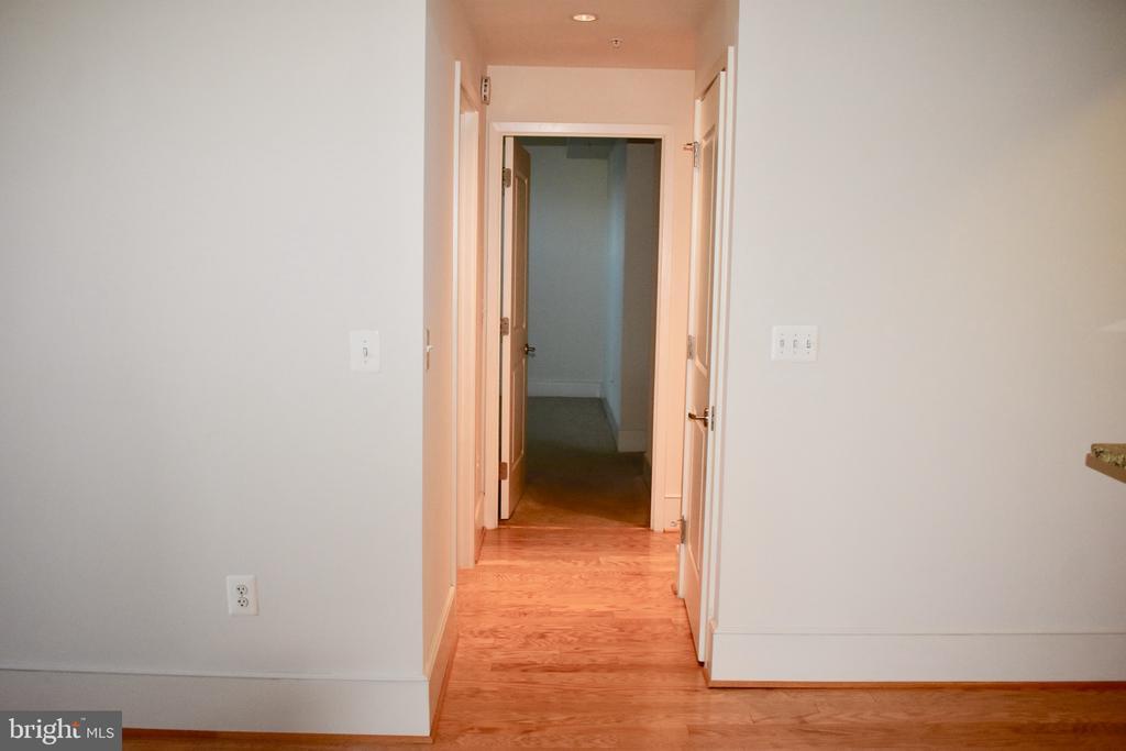 Hallway  to master bedroom - 4301 MILITARY RD NW #315, WASHINGTON