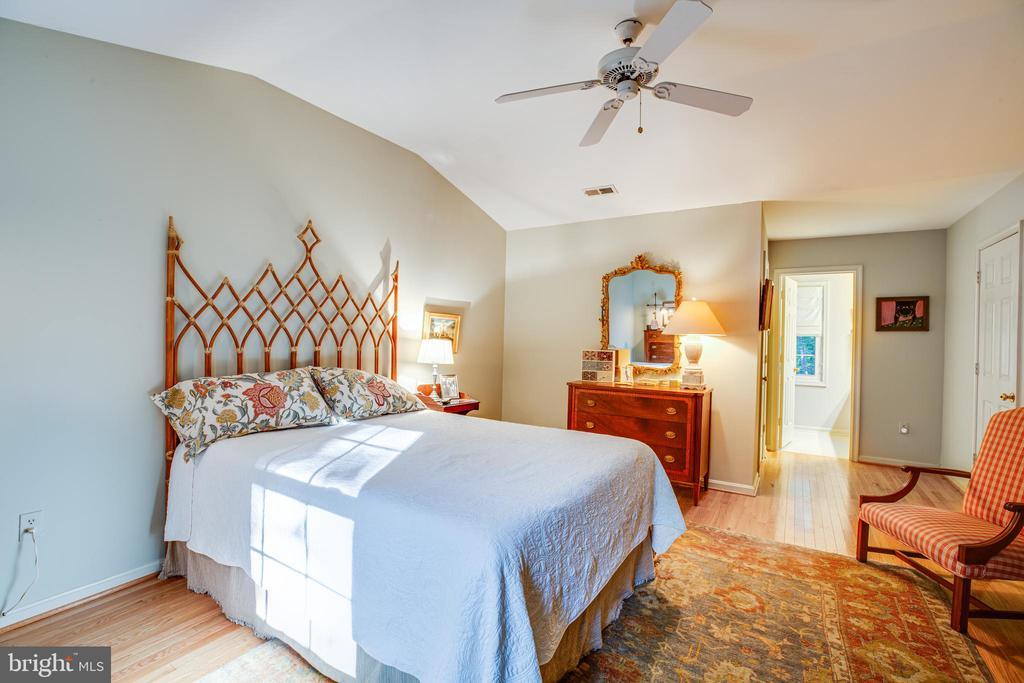 Master Bedroom with Walk-in Closet - 105 SAWICK CT, SPOTSYLVANIA