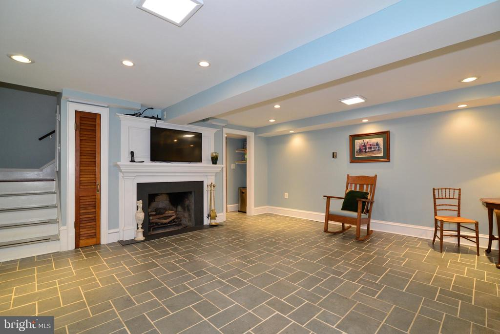 Fully Finished Basement with Wood Burning Fireplac - 100 E COLONIAL HWY, HAMILTON
