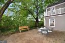 Private Patio - 100 E COLONIAL HWY, HAMILTON