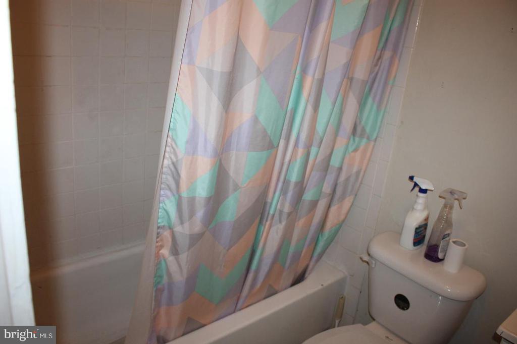 Basement bath - 4635 6TH ST SE, WASHINGTON