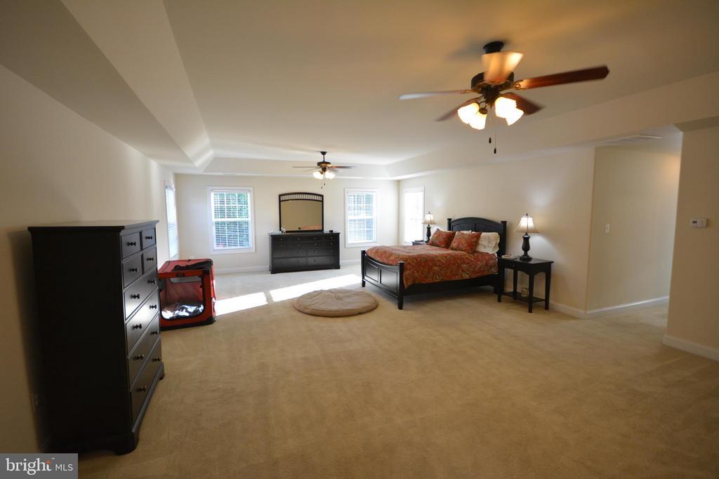 Entering the master bedroom. - 38 PRESIDENTIAL LN, STAFFORD