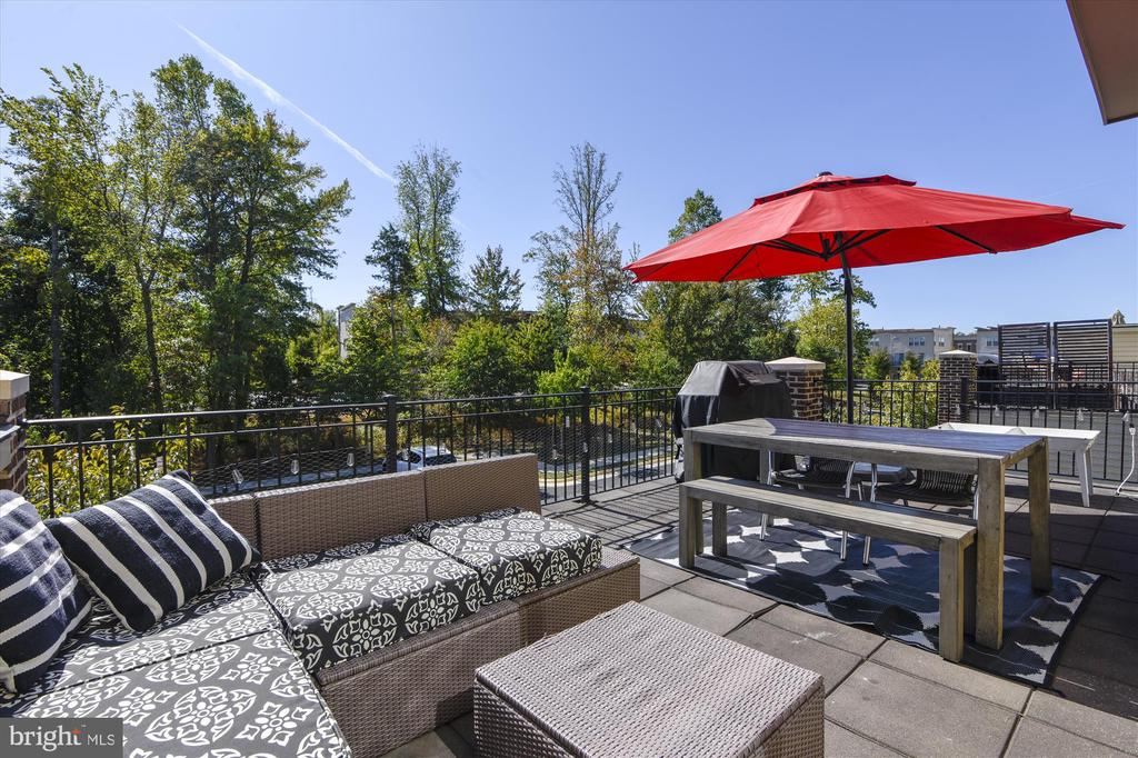 Deck off Main Living Area - 42298 PEREGRINE TER, BRAMBLETON