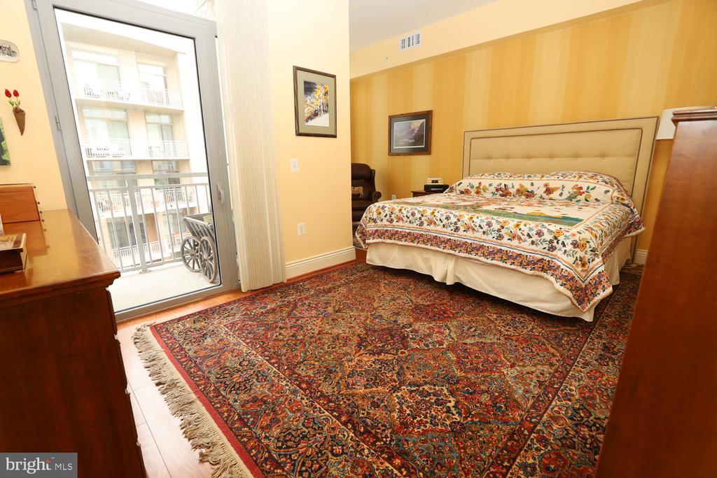Private balcony off the master bedroom - 11990 MARKET ST #1914, RESTON