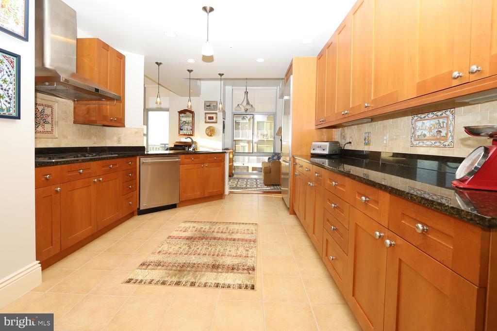 Granite, ceramic backsplash and large pantry - 11990 MARKET ST #1914, RESTON
