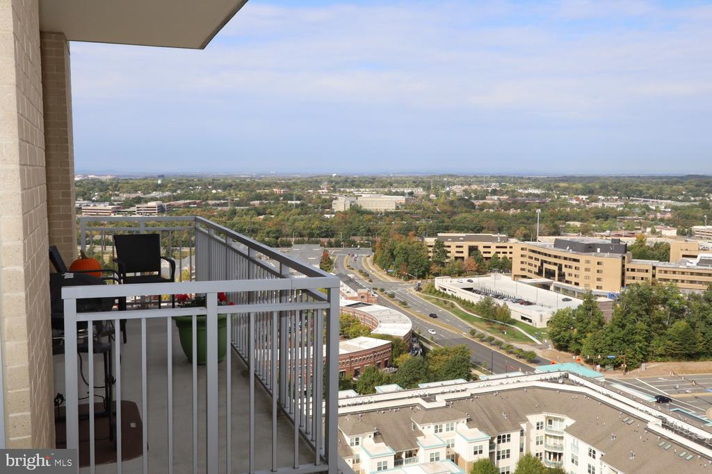 Urban/wooded  views extend to the mountains - 11990 MARKET ST #1914, RESTON