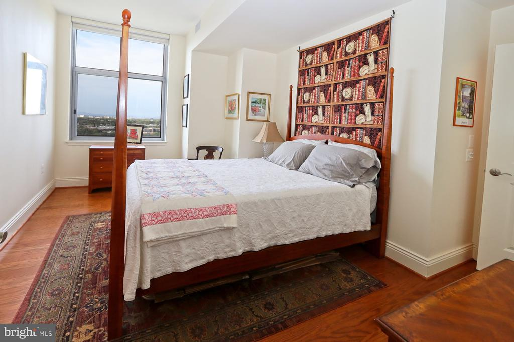Guests will love the western view from bedroom 2 - 11990 MARKET ST #1914, RESTON