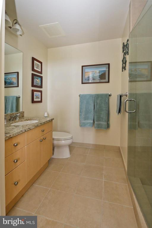 Second bathroom in ensuite bedroom 2 - 11990 MARKET ST #1914, RESTON