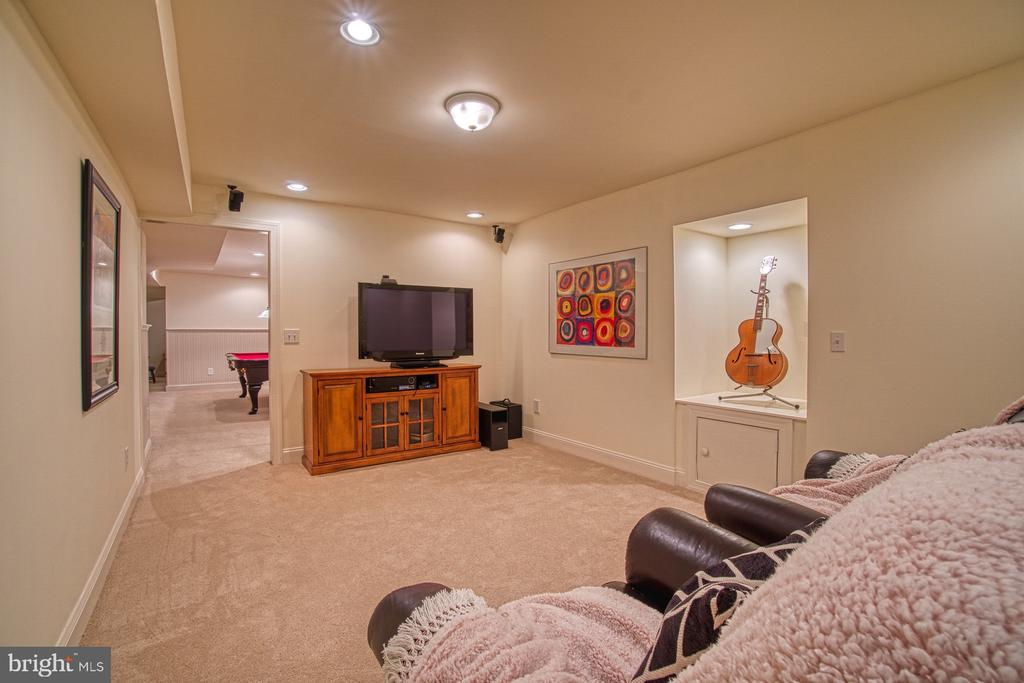 THEATER ROOM - 47012 KENTWELL PL, STERLING