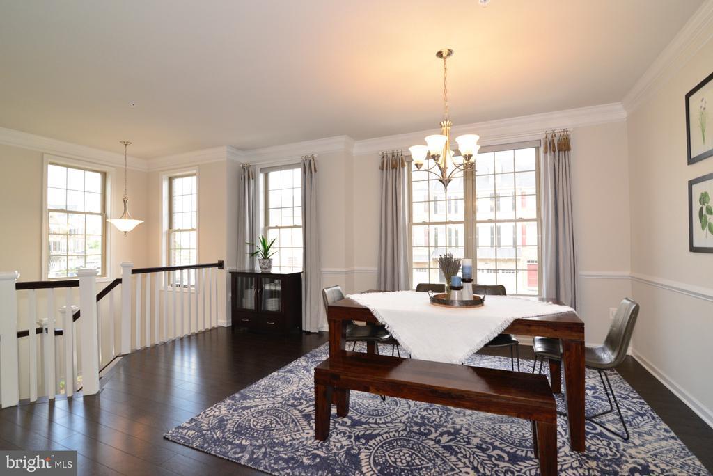 Dining Room - 25017 CAMBRIDGE HILL TER, CHANTILLY