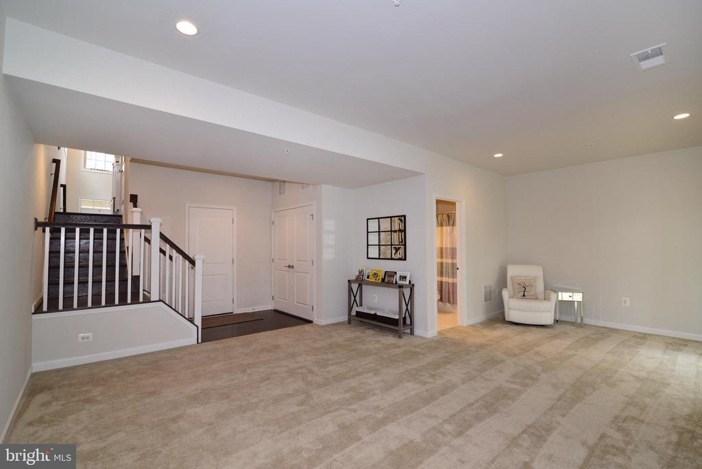 Recreation Room with Full Bath - 25017 CAMBRIDGE HILL TER, CHANTILLY