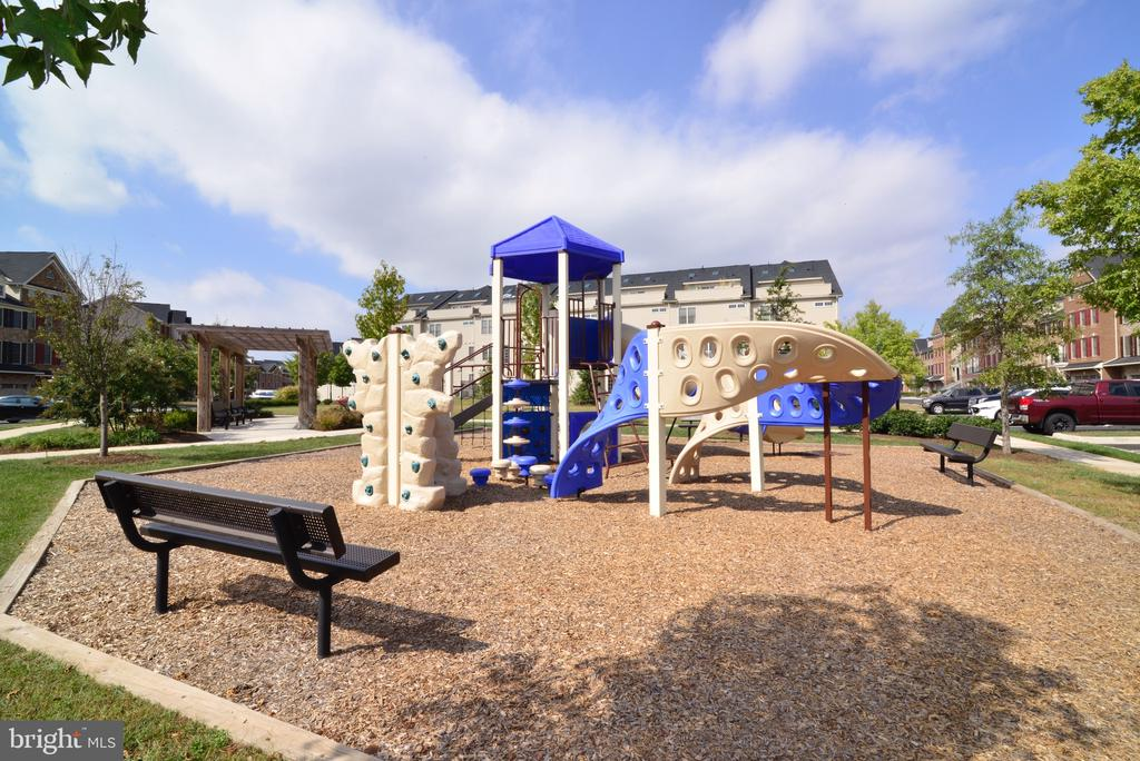 Playground with a place to rest & watch the kids! - 25017 CAMBRIDGE HILL TER, CHANTILLY