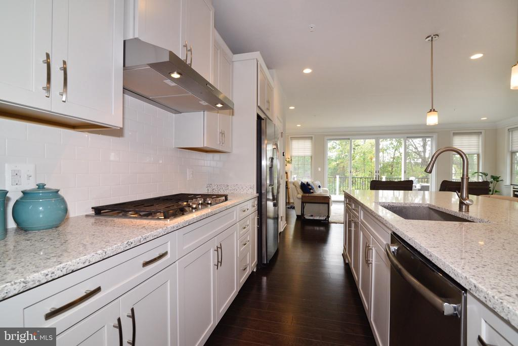 Gas Cooktop with Double Oven/Microwave Combo - 25017 CAMBRIDGE HILL TER, CHANTILLY