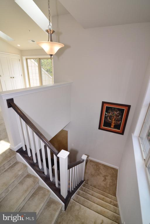 Staircase to 4th Level - 25017 CAMBRIDGE HILL TER, CHANTILLY