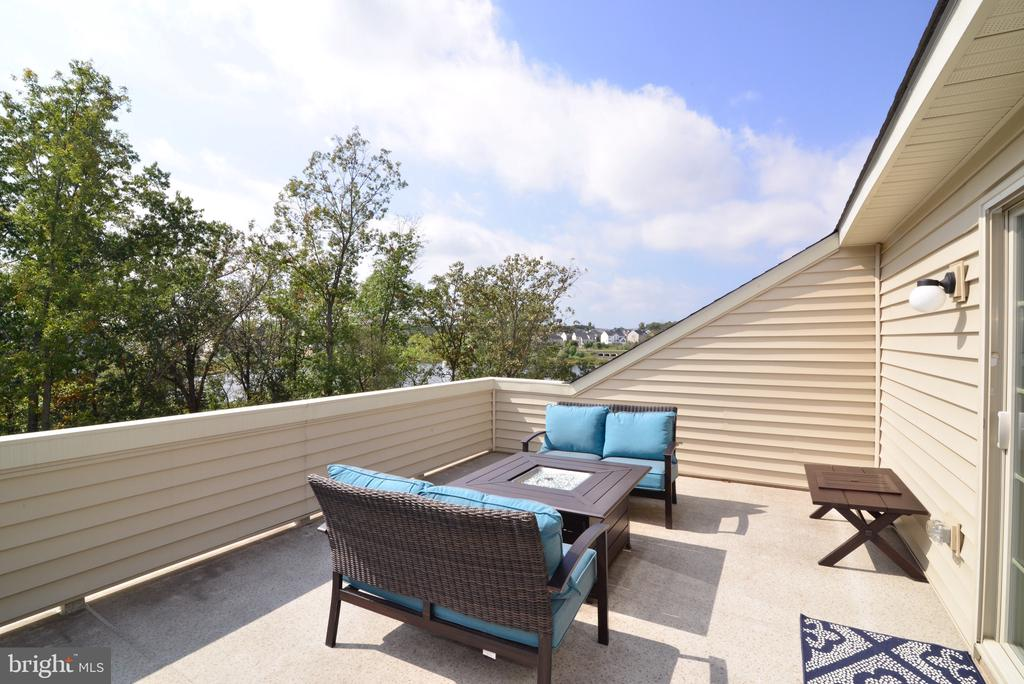 Rooftop Deck - 25017 CAMBRIDGE HILL TER, CHANTILLY
